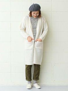 春だから軽やかに♪さらっと羽織れる「ロングカーディガン」の素敵コーディネート集   キナリノ Normcore, Style, Fashion, Swag, Moda, Fashion Styles, Fashion Illustrations, Outfits