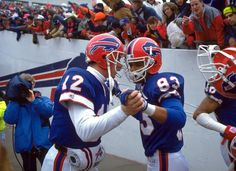 Jim Kelly with Andre Reed