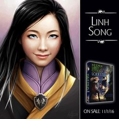 Here it is--your new KEEPER portrait from @LostiesArt on Twitter. And this one might be my fave of the group because it's a character we've never seen before: Linh! I LOVE how powerful and gorgeous she is! (And yes, obviously you know who I'll be revealing on Friday so no need to flood the comments with Keefes--though I'm sure you will anyway 😉). #keeperofthelostcities #kotlc #LODESTAR
