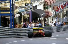 Ferrari Friday … thumbs upNigel Mansell, Ferrari 641, 1990 Monaco Grand Prix