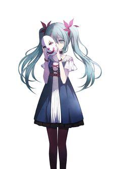 Vocaloid - Miku Hatsune (初音ミク) - Puppet Clown / Karakuri Pierrot (からくりピエロ)