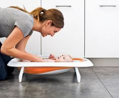 Boon Naked Baby Bath - completely collapsible