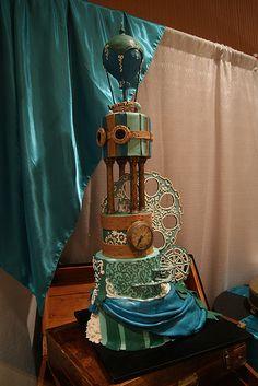 Steampunk Cake 2013