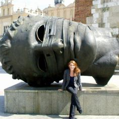 Eros Bendato in Krakow's Rynek Główny (the old town square), Krakow Poland. 10 Ways to Get the Most Out of #Travel by #SeeJayneGo for Real Posh Mom