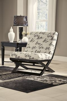 5640021 In By Ashley Furniture In Radford, VA   Accent Chair/keendre/indigo  | Ideas For 950 Oak | Pinterest | Radford F.C. And Indigo