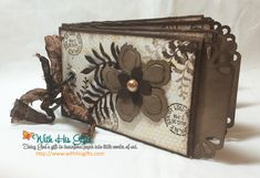 Botanical Blooms Mini Album by areli - Cards and Paper Crafts at Splitcoaststampers