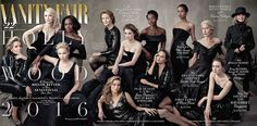 The women of the 2016 Hollywood cover are a force to be reckoned with.