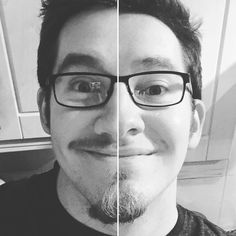 Before and after the end of #Movember. @movember