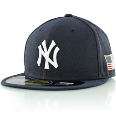 new era MLB AUTHENTIC 59FIFTY US FLAG NEW YORK YANKEES navy