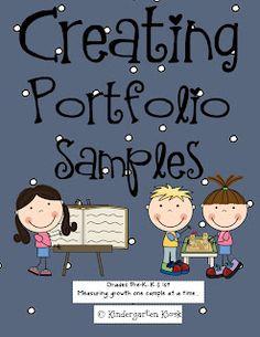 Kindergarten Kiosk: Creating a Portfolio (Memory Book): Measuring Growth One Sample at a Time
