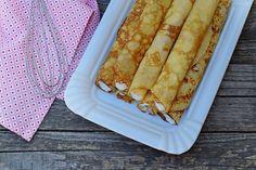 Őrületes grízes palacsintatészta bögrésen | Rupáner-konyha Crepes, Pesto, Delicious Desserts, Ethnic Recipes, Food, Meal, Essen, Hoods, Pancake