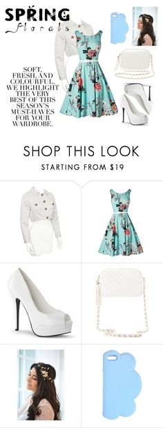 """Spring Florals"" by lia-fashion on Polyvore featuring Folio, Charlotte Russe and STELLA McCARTNEY"