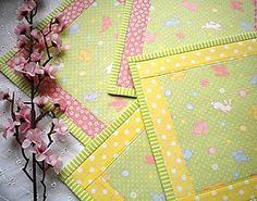 Úžitkový textil - Na zelenej lúke ...malé prestierky -  2 ks - 5059567_