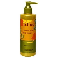 Alba Botanica Hawaiian Pineaple Enzyme Facial Cleanser.  Really controls my breakouts!