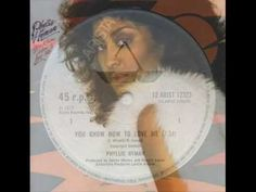 """PHYLLIS HYMAN. """"You know how to love me"""". 1979. 12"""" extended version."""