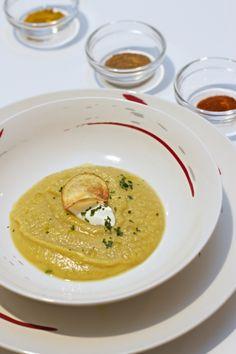 Crema di patate dolce al curry