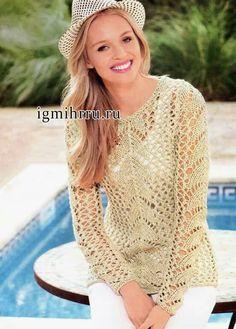 Blusa trico rendado