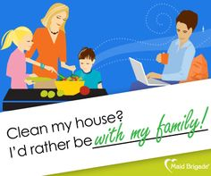 Especially with the holidays coming up! #maid #maidbrigade #greencleaning #thanksgiving #familytime