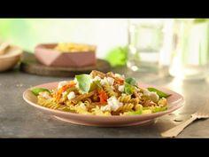 Pastasalat med grillede grønnsaker - REMA 1000