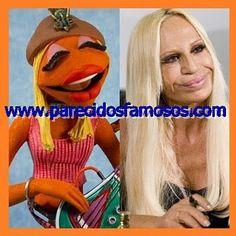 Parecidos con famosos: Donatella Versace con Janice The Muppet