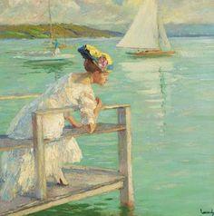 American Impressionist Painter - Edward Cucuel (1875-1954) ~ Blog of an Art Admirer