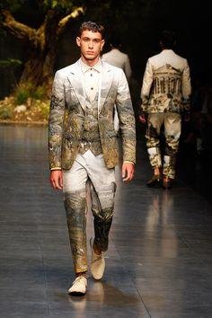 dolce and gabbana ss 2014 men fashion show runway 25 Dolce & Gabbana Mens SS14 Catwalk Show