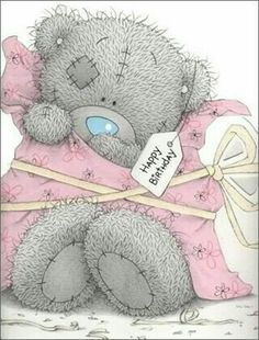 """Tatty Teddy, Blue Nose Friends, Me to You, """"I give you me, Happy Birthday"""""""