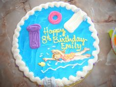 Easy Pool Party Cake Ideas | Pool Party Birthday Cake » Busy Bee Lifestyle