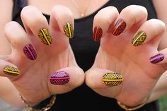 boomnails:    ZIGS AND ZAGS