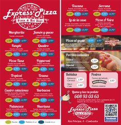 Imagen corporativa Express Pizza Tomate Mozzarella