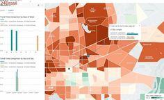 Uber lança site com dados sobre o fluxo de seus passageiros