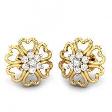 Simi Diamond Earring Stone Jewelry, Jewelry Art, Antique Jewelry, Men's Jewellery, Designer Jewellery, Jewellery Designs, Dubai Gold Jewelry, Titanic Jewelry, Diamond Jewelry