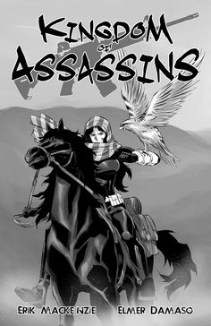 Cover of Manga comic book issue 1 #koa #kingdomofassassins #manga #comic #thriller #itsamangaandacomic #CIA #NYPD #SpecialForces #Middleeast #War #IRAN #SaudiArabia