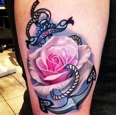 love the rose. tattoo.
