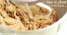How to Shred Chicken with a Mixer (So Fast) – Fabulessly Frugal Shredding chicken with a mixer is SO much easier and faster than doing it by hand. Here's how to shred chicken with a mixer the right way. Diy Body Wash, Homemade Body Wash, Stove Top Cleaner, Air Fryer Healthy, Herd, Wax Paper, Shredded Chicken, Air Fryer Recipes, Freezer Meals