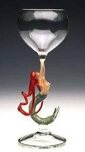 Image result for mermaid pewter goblet wine glass