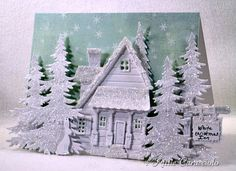 I'm dreaming of a White Christmas - This amazing card card was made by http://kittiekraft.typepad.com/kittiekraft/2012/12/im-dreaming-of-a-white-christmas.html?utm_source=feedblitz_medium=FeedBlitzEmail_content=303431_campaign=Hourly_2012-12-24+09%3a00