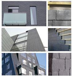 CUPACLAD ® est un système complet pour façade ventilée en ardoise naturelle | #CUPA #CUPACLAD #ardoise #facade #architecture #design