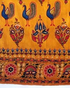 Embroidery with hook, Gujarat, Kutch, 19th c., Elizabeth Bayley Willis coll., Henry Art Gallery University of Washington