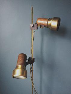 1960/70's Twin Spotlight Floor Lamp – Homeplace