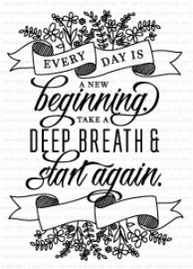 Quoted: Start Again Mini Stamp Set
