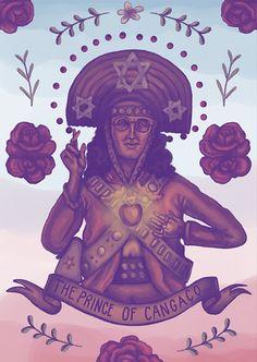 "Galeria Virtual: Arte Viralata - ""Das ruas para a sua parede"" Art And Illustration, Illustrations Posters, Occult Art, Arte Popular, Black Art, Art World, Lovers Art, Psychedelic, Pop Art"