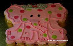 elephant cupcake cake - Google Search