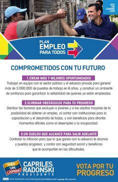 Sector público y privado trabajarán juntos para generar más de 3.000.000 de empleos en 6 años. Plan #EmpleoParaTodos
