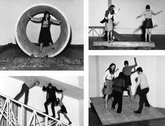 Robert Morris, Body motion  spaces things, 1971-2009, Tate Modern, installation  #installation #parcours #jeu #enfance #sport #amusement