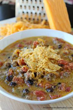 Beefy Nacho Soup | Mommy on Demand