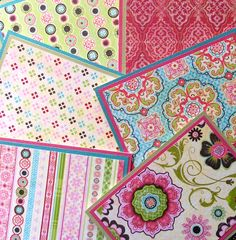 Notecards made with Kelly Panacci Blossom Scrapbook collection: 6 Different Blank Notecards with Matching Embellished Envelopes via Etsy. Scrapbook Paper, Scrapbooking, Practical Gifts, Card Envelopes, Book Stuff, Paper Design, Note Cards, Color Schemes, Card Stock