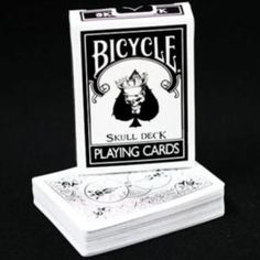The Skull Deck - Bicycle Playing Cards