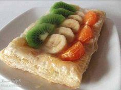 Hojaldre de frutas.