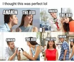 Laugh your way over the hump with some fresh memes to pass the time. Star Wars Trivia, Star Wars Witze, Star Wars Jokes, Star Wars Facts, Star Wars Boba Fett, Lego Star Wars, Star Wars Poster, Starwars, Disney Memes